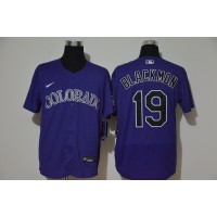 Charlie Blackmon Colorado Rockies Purple Baseball Jersey