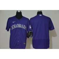 Colorado Rockies Purple Baseball Jersey