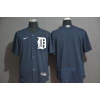 Detroit Tigers Navy Blue Baseball Jersey