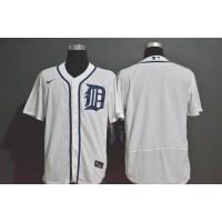 Detroit Tigers White Baseball Jersey