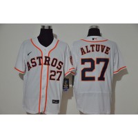 José Altuve Houston Astros White Baseball Jersey