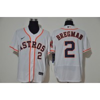 Alex Bregman Houston Astros White Baseball Jersey