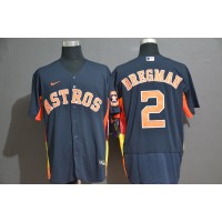 Alex Bregman Houston Astros Navy Blue Baseball Jersey