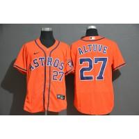 José Altuve Houston Astros Orange Baseball Jersey