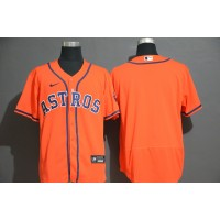 Houston Astros Orange Baseball Jersey