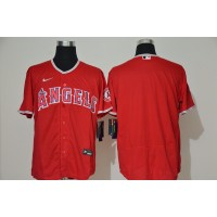 Los Angeles Angels Red Baseball Jersey