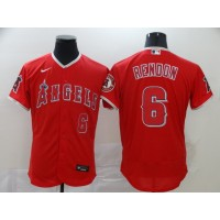 Anthony Rendon Los Angeles Angels Red Baseball Jersey