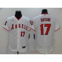 Shohei Ohtani Los Angeles Angels White Baseball Jersey