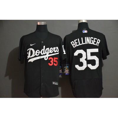 Cody Bellinger Los Angeles Dodgers Black Baseball Jersey