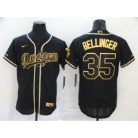 Cody Bellinger Black & Gold Los Angeles Dodgers Baseball Jersey