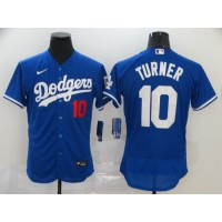 Justin Turner Los Angeles Dodgers Blue Baseball Jersey