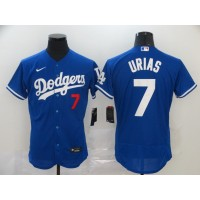 Julio Urías Los Angeles Dodgers Blue Baseball Jersey