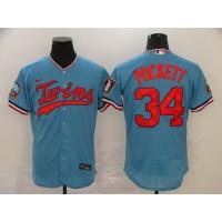 Minnesota Twins Light Blue Baseball Jersey
