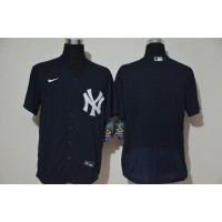 *New York Yankees Navy Blue Baseball Jersey