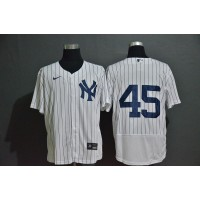 Gerrit Cole New York Yankees White Baseball Jersey (no name)