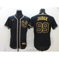 Aaron Judge Black & Gold New York Yankees Baseball Jersey