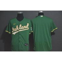Oakland Athletics Green Baseball Jersey