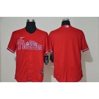 Philadelphia Phillies Red Baseball Jersey