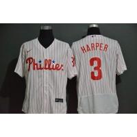 Bryce Harper Philadelphia Phillies White Baseball Jersey