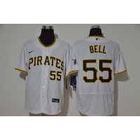 Josh Bell Pittsburgh Pirates White Baseball Jersey