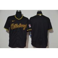 Pittsburgh Pirates Black Baseball Jersey