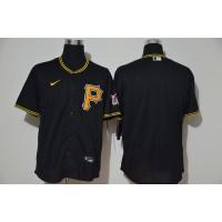 Pittsburgh Pirates Black (P) Baseball Jersey