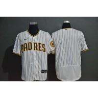 San Diego Padres White Pinstripe Baseball Jersey