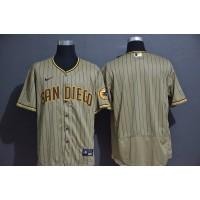 San Diego Padres Light Brown Baseball Jersey