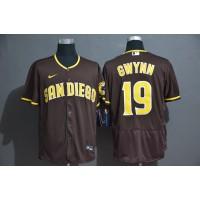 Tony Gwynn San Diego Padres Brown Baseball Jersey
