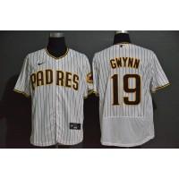 Tony Gwynn San Diego Padres White Pinstripe Baseball Jersey