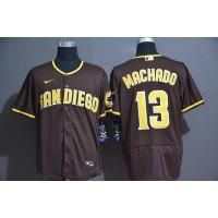 Manny Machado San Diego Padres Brown Baseball Jersey