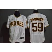 Chris Paddack San Diego Padres White Pinstripe Baseball Jersey