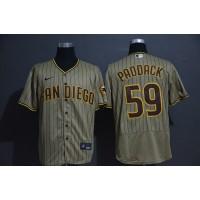 Chris Paddack San Diego Padres Light Brown Baseball Jersey