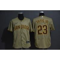 Fernando Tatís Jr. San Diego Padres Light Brown Baseball Jersey