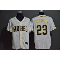 Fernando Tatís Jr. White & Gold San Diego Padres Baseball Jersey