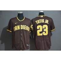 Fernando Tatís Jr. San Diego Padres Brown Baseball Jersey