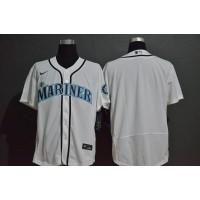 Seattle Mariners White Baseball Jersey