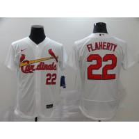 Jack Flaherty St. Louis Cardinals White Baseball Jersey
