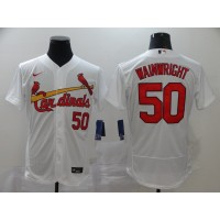 Adam Wainwright St. Louis Cardinals White Baseball Jersey