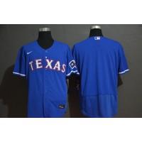 Texas Rangers Blue Baseball Jersey
