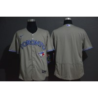 Toronto Blue Jays Grey Baseball Jersey