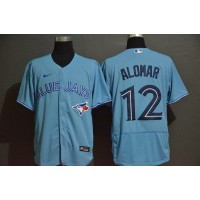 Roberto Alomar Toronto Blue Jays Light Blue Baseball Jersey