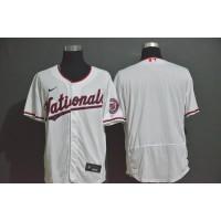 Washington Nationals White Baseball Jersey