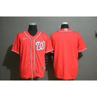 Washington Nationals Red Baseball Jersey