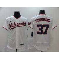 Stephen Strasburg Washington Nationals White Baseball Jersey