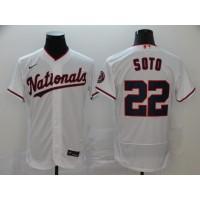Juan Soto Washington Nationals White Baseball Jersey