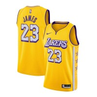 *LeBron James Los Angeles Lakers 2019-20 City Edition Jersey