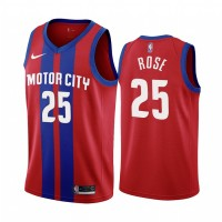 Derrick Rose Detroit Pistons 2019-20 City Edition Jersey
