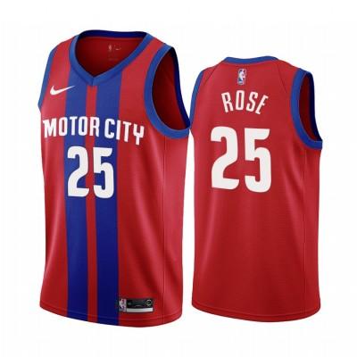Derrick Rose Detroit Pistons 2019-20 City Edition Jersey