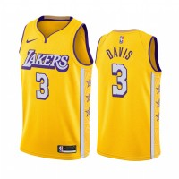 *Anthony Davis Los Angeles Lakers 2019-20 City Edition Jersey